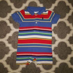 Ralph Lauren Polo Baby Romper Unisex 3 Month